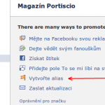 Nastaven marketingu Facebook strnky
