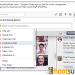 HootSuite - Ukzka prce s Google Plus strnkami