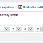 Naplnovn pspvku na Facebook strnce