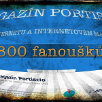 800 fanouk na Facebook strnce Magaznu Portiscio